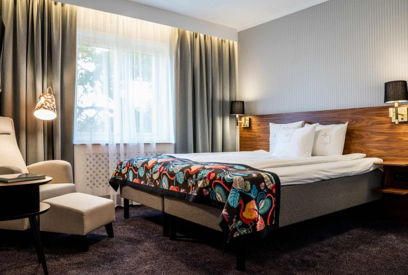 Hotellrum på Steningevik